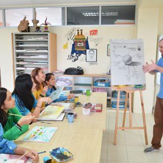 Pan-Asia International School - Art